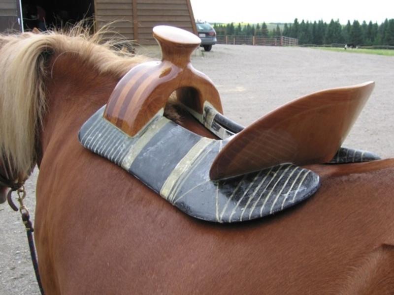 Как сделать седло для лошади своими руками видео