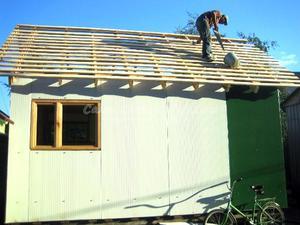 Крыша курятника