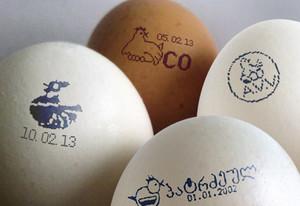 Вес вареного куриного яйца и сырого