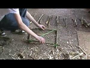 Изготовление ловушки для птиц
