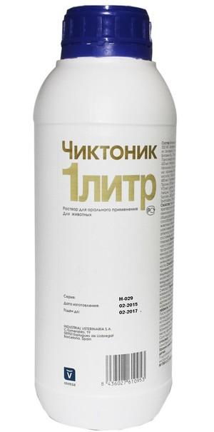 Форма выпуска витамина Чиктоник