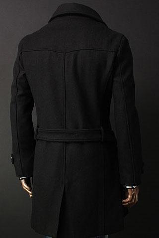 мужское пальто на меху кролика