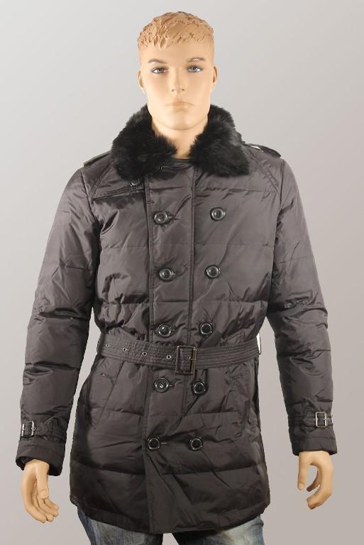 мужская куртка с мехом кролика
