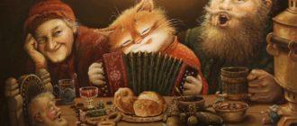 Кошки на Руси: история, родина, фольклор, гадания, суеверия