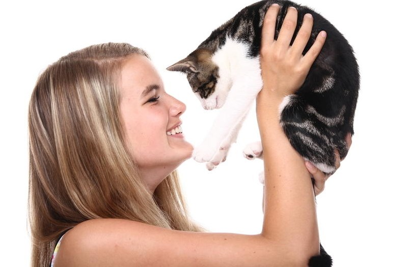 Любит ли вас ваша любимая кошка