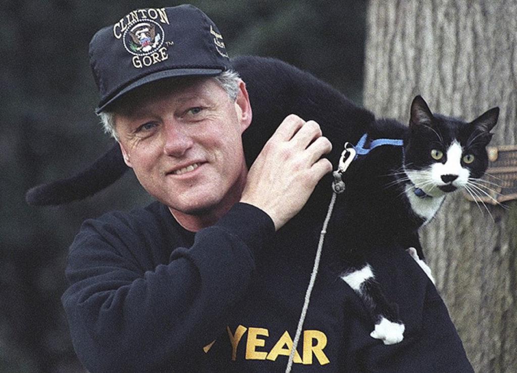 Тигры, коровы и медведи: Домашние животные американских президентов