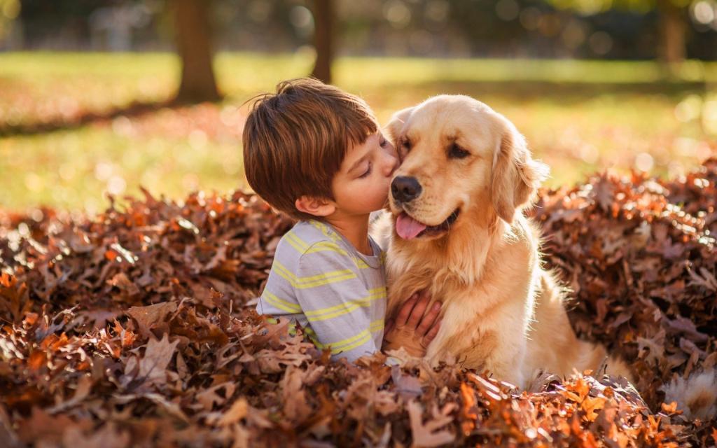 Топ-7 собак, которые отлично подходят для детей